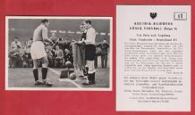 France v West Germany 1952 Marche Stade de Reims Walter Kaiserslautern D1